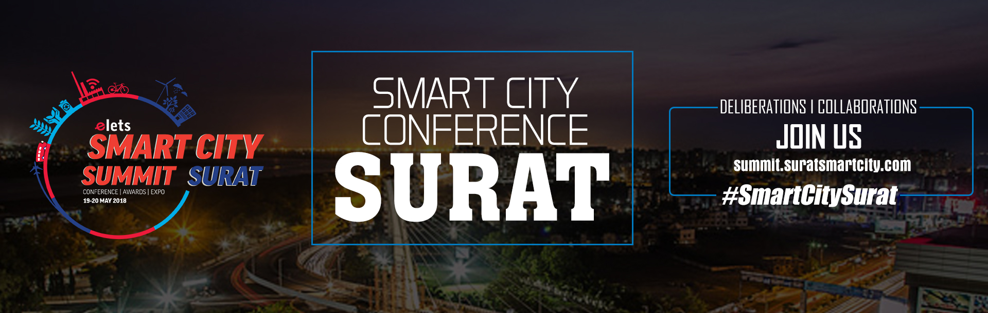 Smart City Summit on 19th May 2018 and 20th May 2018