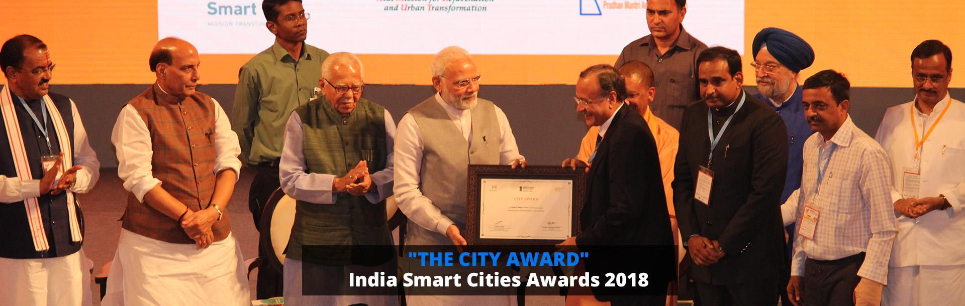 The City Award - India Smart Cities Awards 2018